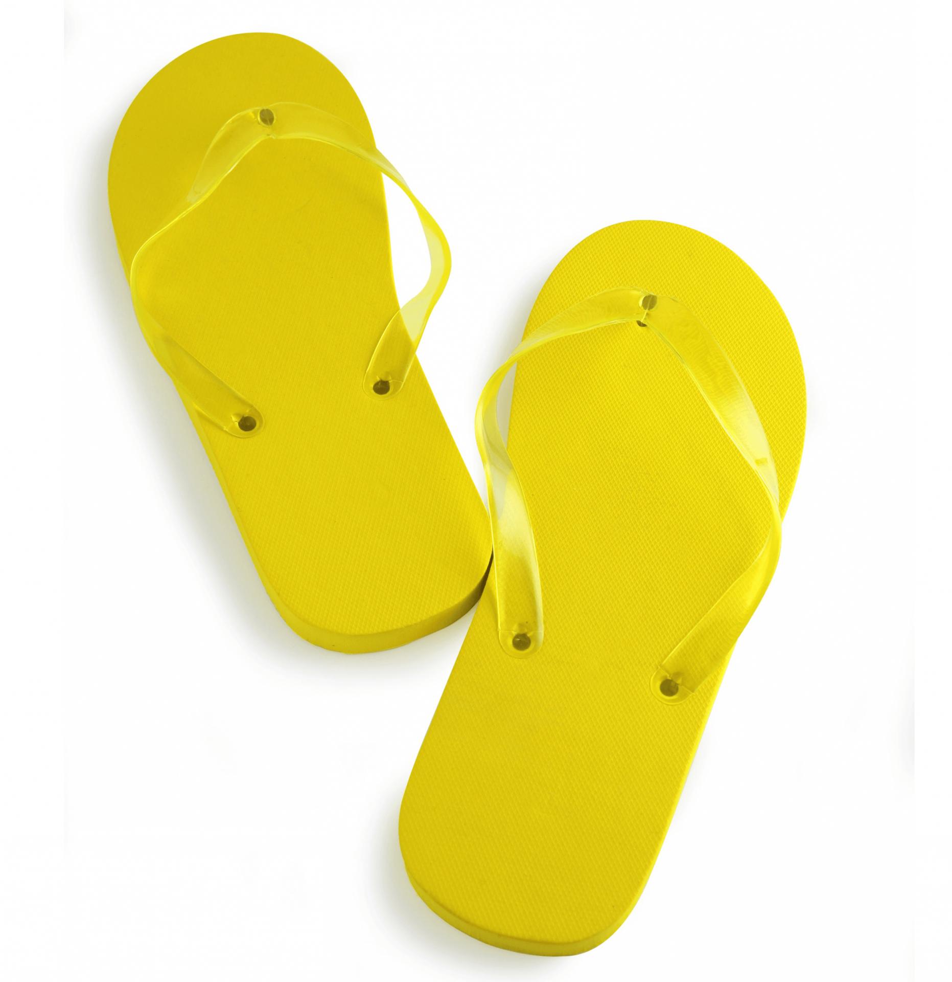 Chancla amarilla